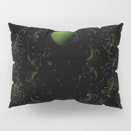 Green Moon Pillow Sham