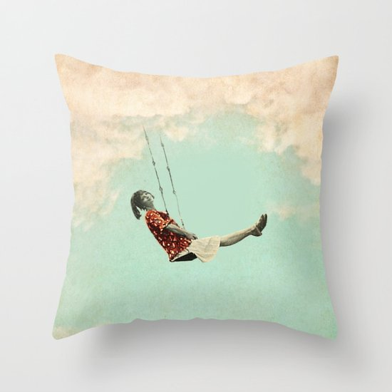 Mary's Breath of Heaven Throw Pillow