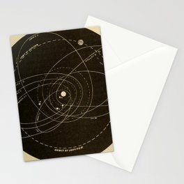 Astronomy for the Use of Schools and Academies (1882) - Orbits of Several Comets Stationery Cards