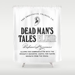 Dead Man's Tales Elixir Shower Curtain