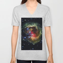 Echo Light of a Stellar Outburst Unisex V-Neck