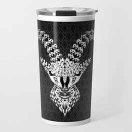 black goat ecopop Travel Mug