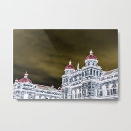 inverted parliment building Metal Print