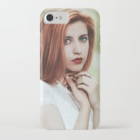 ginger iPhone & iPod Cases featuring Ginger by Jovana Rikalo