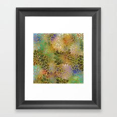 Floral Abstract 3 Framed Art Print