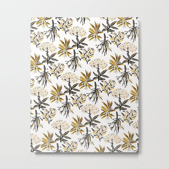 Herbal Apothecary Metal Print