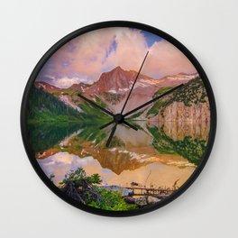 Snowmass Lake Wall Clock