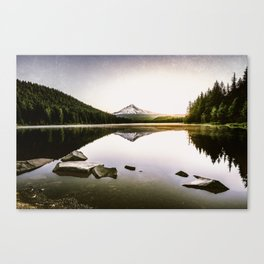 Fantastic Morning - Mount Hood Reflection Canvas Print