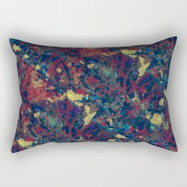 Abstract painting revolution Rectangular Pillow
