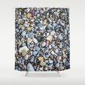 Shellfish and Stones at the beach of Lago di Garda Italy II by sticker69de
