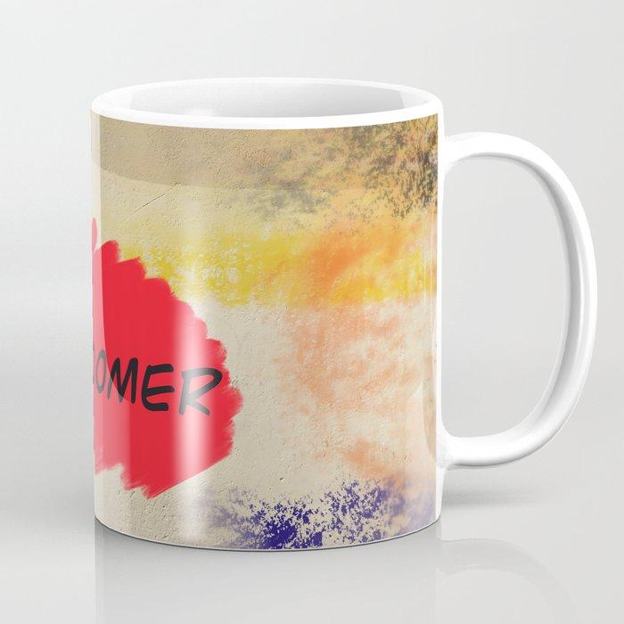 Ok Boomer Wall Tag Wordart Genz Coffee Mug By Never2bold Society6