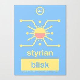 styrian blisk single hop Canvas Print