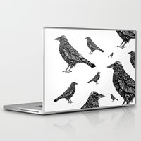 raven Laptop & iPad Skins featuring Raven by Rebexi