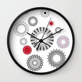 Type Patten - Rotate Wall Clock