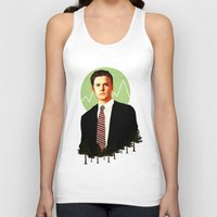 dale cooper Tank Tops featuring Cooper by chazstity
