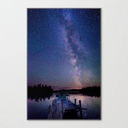 Starry Dock Canvas Print