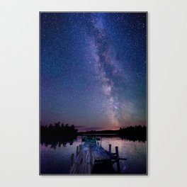 Starry Dock Canvas Print