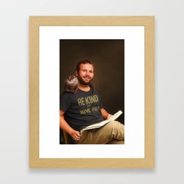 Well, since you ask me for tales of mystery... Framed Art Print