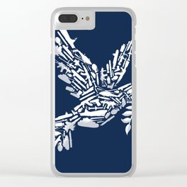 Peace? Clear iPhone Case