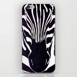 Zebra Painting  iPhone Skin