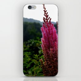 Flower Tower iPhone Skin