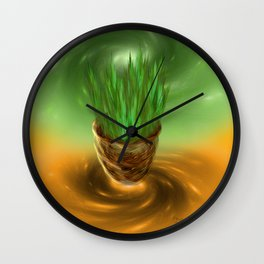 Oneness with the Universe  Wall Clock
