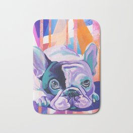 Frenchie Puppy Bath Mat