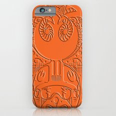 rebel x-wing fighter Polynesian tribal Slim Case iPhone 6s