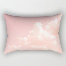 Spun Sugar Clouds Rectangular Pillow