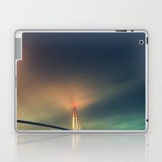 Bridge in Fog 2 Laptop & iPad Skin