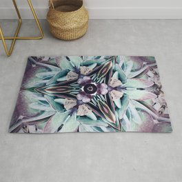 Colours of Succulents Rug