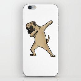 Funny Dabbing Bullmastiff Dog Dab Dance iPhone Skin