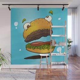 Derp Burger Wall Mural