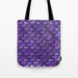 Reflection of the purple moon Tote Bag