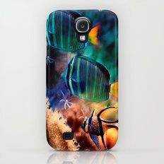 Tropical fish Galaxy S4 Slim Case