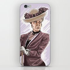 Maggie Smith iPhone & iPod Skin