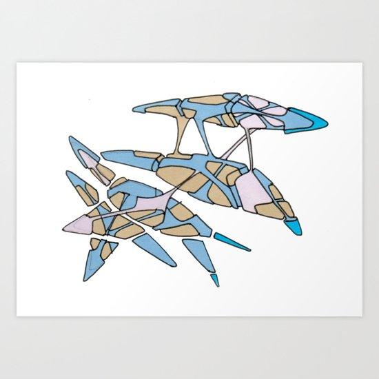 Hiva-03 Art Print