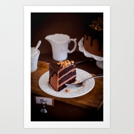 Baci Cake Art Print