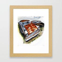 Junk Car No. 10 Framed Art Print