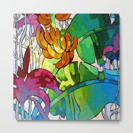 Arman Manookian Hawaiian Flowers Metal Print
