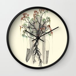 TREES NEVER LIED 03 Wall Clock