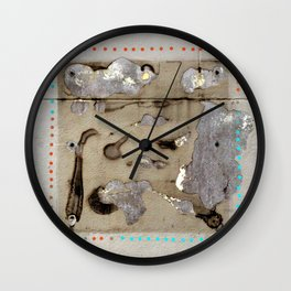 before the deluge: left Wall Clock