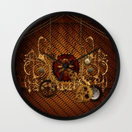 Steampunk, elegant  design Wall Clock