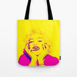 Bright Madonna Tote Bag
