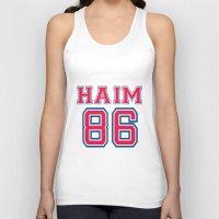 haim Tank Tops featuring HAIM 86 by it's haim time