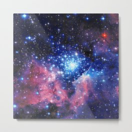 Extreme Star Cluster Metal Print