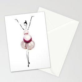 Edible Ensembles: Red Onion Stationery Cards
