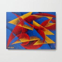 Line of Speed by Giacomo Balla Metal Print