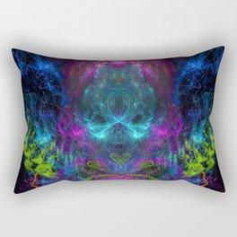 Thunder Exhalation (totem, visionary, psychedelic) Rectangular Pillow