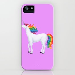whimsy (rainbow unicorn) iPhone Case